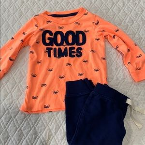 boys matching set
